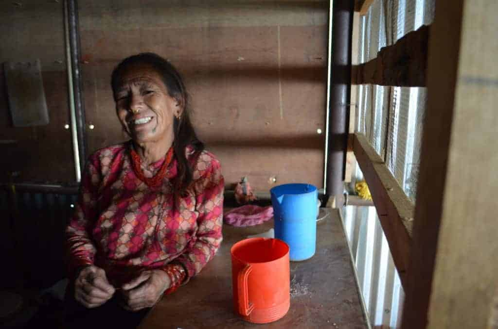 Nepal tea woman