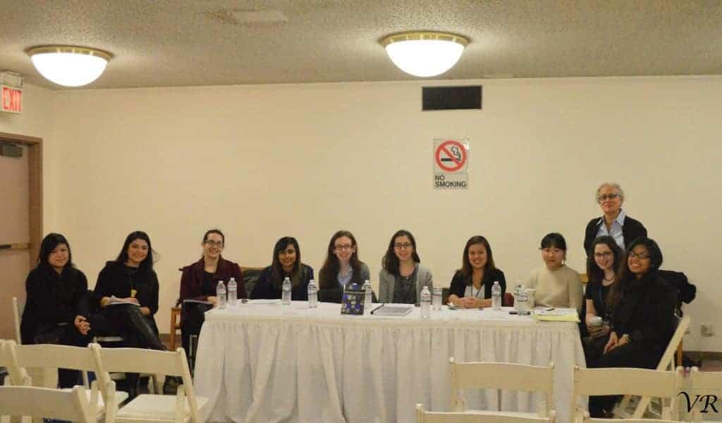 City College students. VICTORIA RIVERA