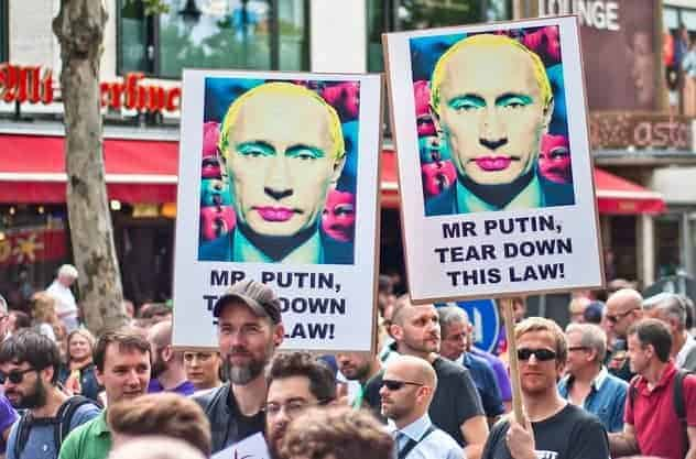 Criminalization of homosexuality in russia