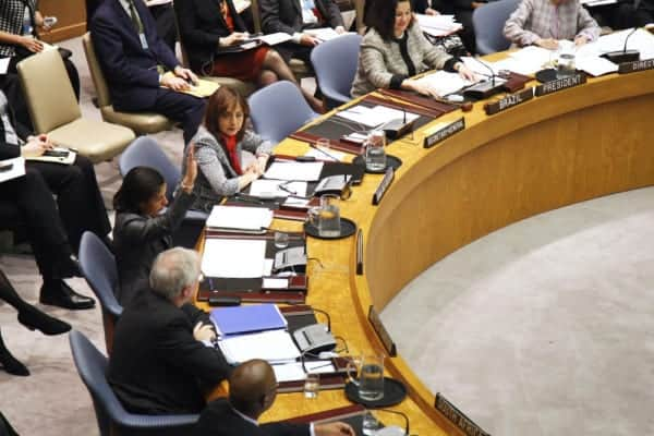 Susan Rice, the United States ambassador at the United Nations,