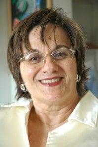 Maria da Penha Maia Fernandes, the Brazilian advocate whose husband tried to kill her twice.