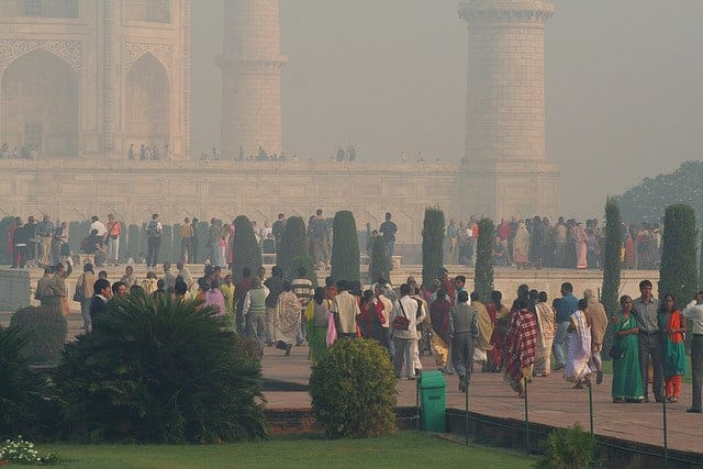 India pollution JOHN HASLAM/FLICKR