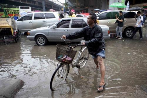 Flooding in Manila. JOE PENNEY