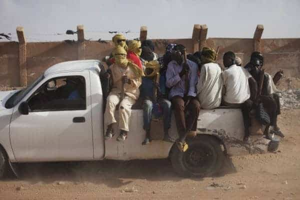 A transit point for human smugglers in Agadez, Niger. JOE PENNEY/REUTERS