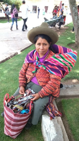 A Quecha-speaking woman in the highlands of Peru. RHONA SCULLION