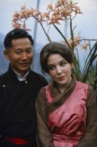 Choygal and his wife