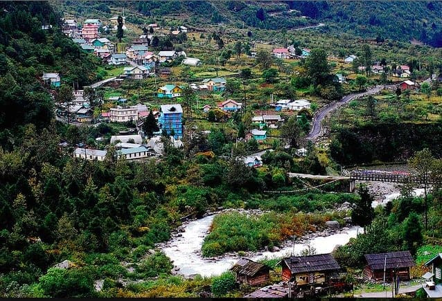 Lachung, a Tibetan village in North Sikkim, has become a tourist destination, a phenomenon that the Indian government has encouraged throughout the Sikkim kingdom. JAY RADHAKRISHNAN