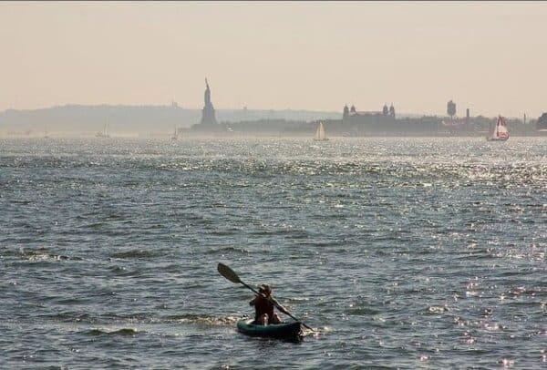 New York Harbor. JOHN PENNEY