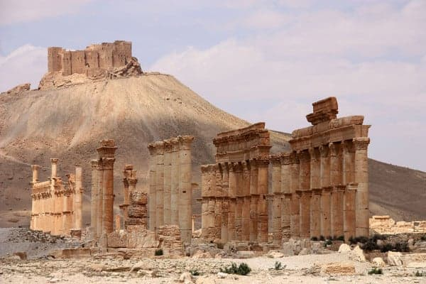 The Arab Citadel of Palmyra, Syria. CREATIVE COMMONS