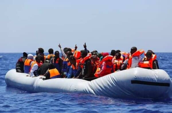 Rescue operations carried out in late June 2015 in the Channel of Sicily, Italy. FRANCESCO MALAVOLTA/IOM