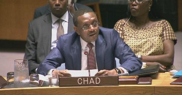 Mahamat Zene Chérif, Chad's ambassador to the UN.