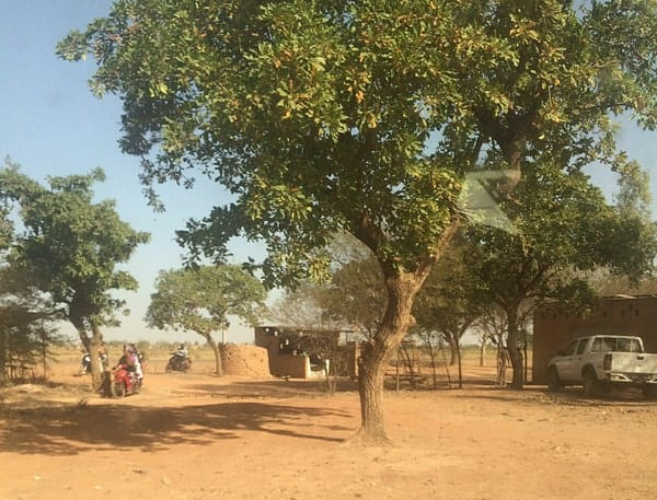 The outskirts of Koubri, a village outside the capital of Burkina Faso. Climate change has affected rainfall and brought higher daily temperatures.