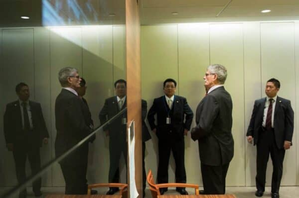 Mogens Lykketoft, the 70th president of the UN General Assembly, and a Dane.