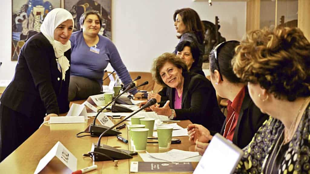 Some members of the UN-led Women's Advisory Board